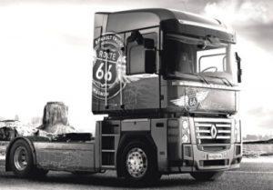 Американская мечта во Французском исполнении-Renault Magnum Route 66