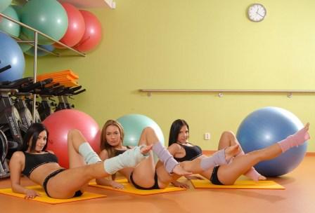 Как соблазнить мужчину, занятия в фитнес зале