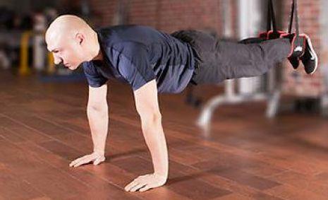 отжитмания тренировки с подвесными ремнями