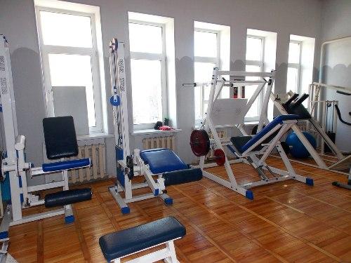 Фотогалерея тренажерный зал Фитнес-клуба «Крепкий орешек»