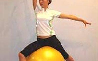 фитбол- упражнения на мяче