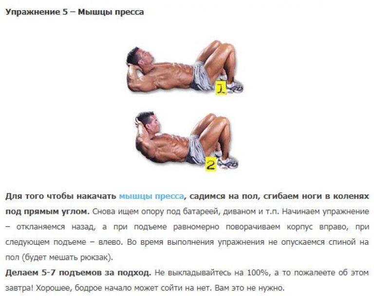 Прокачать мышцы спины в домашних условиях 432