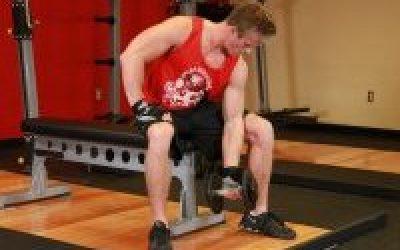 подъем на бицепс- Бодибилдинг без стероидов, Как накачать мышцы без стероидов