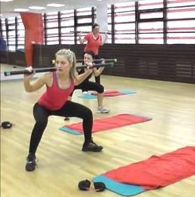 Lower body фитнес аэробика