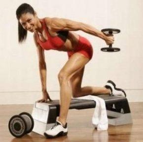 Круговой метод тренировок- упражнения с гантелями для спины