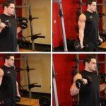 Упражнение с гантелями Сгибания Зоттмана
