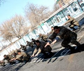 утренняя зарядка в армии комплекс упражнений