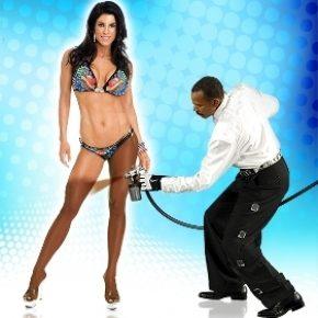 Грим для бодибилдинга и фитнес бикини, грим для бикинисток, как наносить грим для выступлений