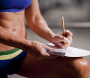план тренировок- дневник тренировок и питания