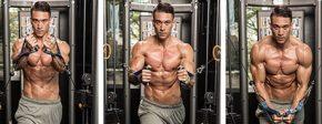 Упражнения на грудные мышцы- Сведение рук в кроссовере- упражнение Кроссовер