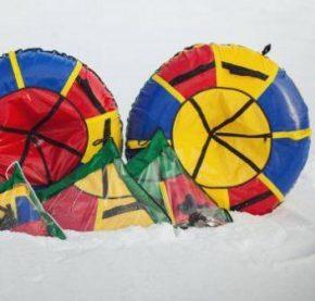 Надувные санки и ватрушки для детей и взрослых- тюбинг