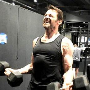 Хью Джекман силовой тренинг и питание, силовые показатели, спорт, тренировки