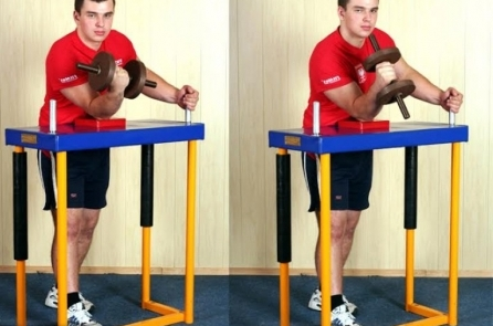 Армрестлинг- техника борьбы и тренировка