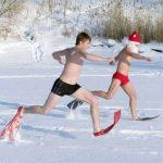 зима, это время для занятий спортом