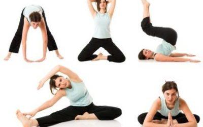 Физические упражнения после родов в картинках