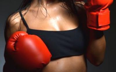 женский бокс для похудения, как похудеть занимаясь боксом, как бокс влияет на фигуру